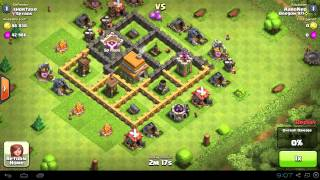 getlinkyoutube.com-BEST Town Hall Level 5 (TH5) Raiding Attack Strategy (1350+ Trophies) Clash of Clans - Part 2