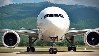 getlinkyoutube.com-Boeing 777-300ER Thai Airways HS-TKK @ CNX.