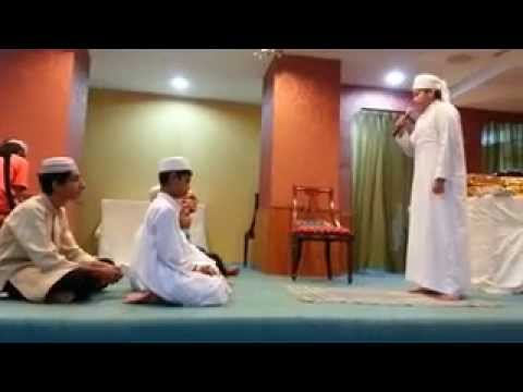 Masjid bencoolen camp blessings 11 நாடகம் by students of madrasa[drama]