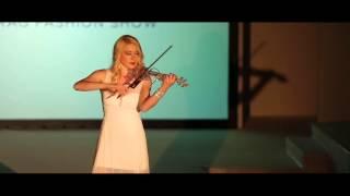 getlinkyoutube.com-Palladio - Electric Violinist  Kate Chruscicka - Leeds RAG Fashion Show