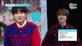 getlinkyoutube.com-141212 Girl group dance battle - Ryeowook vs. Sungjong