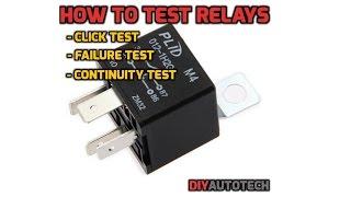 getlinkyoutube.com-Electrical Series: How To Test A Relay - 1080p HD
