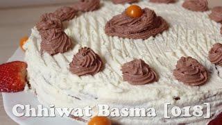 getlinkyoutube.com-Chhiwat Basma [018] - Gâteau à la crème كيكة بالقشطة / بالكريمة