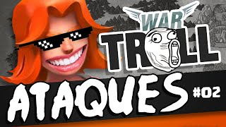 getlinkyoutube.com-TOP 10 ATAQUES TROLL - Parte 02 - WAR TROLL 2 | CLASH OF CLANS