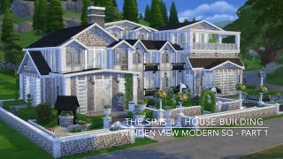 getlinkyoutube.com-The Sims 4 - House Building - Winden View Modern SQ - Part 1