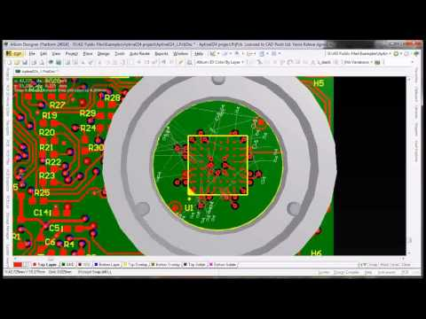 Fanout and BGA escape routing in Altium