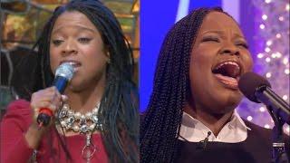 Tasha Cobbs vs. Kierra Sheard Live VOCAL BATTLE width=