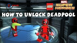 getlinkyoutube.com-How to Unlock Deadpool - Lego Marvel Super Heroes 720P HD