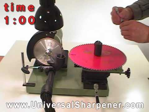 Saw blade sharpener   www.UniversalSharpener.com