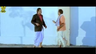 getlinkyoutube.com-Brahmanandam, AVS Very Funny SCene | Dharmachakram | Venkatesh | Nayanatara
