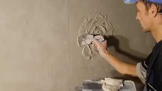 getlinkyoutube.com-цветочки на стене