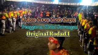 getlinkyoutube.com-Kesenian Kubro Siswo Sinar Surya - rodad 1 (Original !!) - Penggaron Kidul Sawangan