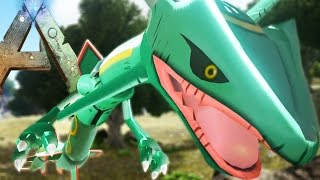 getlinkyoutube.com-Ark Survival Evolved - RAYQUAZA FIGHTING MEWTWO IS THE MOST EPIC SH*T EVER! - Ark Pokemon Modded