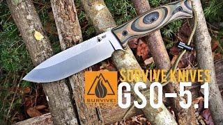 getlinkyoutube.com-BRAND NEW!!! Survive! Knives GSO-5.1 (2015)