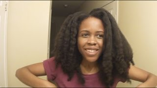 getlinkyoutube.com-My Healthy Natural Hair Growth and Care Tips | Length Retention