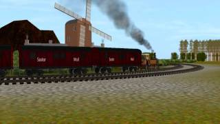 getlinkyoutube.com-Thomas And Friends Seasons 8-13 Intro Trainz Remake