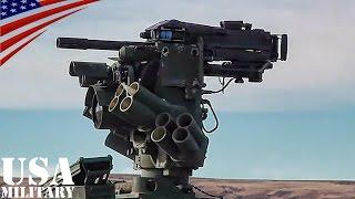 getlinkyoutube.com-Mk19自動擲弾銃(グレネードランチャー)の遠隔操作射撃(RWS) ストライカー装甲車 - Mk 19 Grenade Launcher IAV Stryker