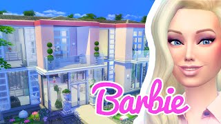 getlinkyoutube.com-The Barbie Dreamhouse: The Sims 4 Build