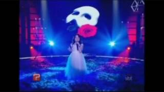 """CUTE 6 YEAR OLD SINGS """"THE PHANTOM OF THE OPERA"""" ~ HITTING ALL HIGH NOTES ~ MUST SEE"""