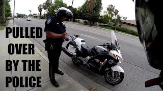 getlinkyoutube.com-Motorcycle POLICE Pull Me Over | $800 TICKET