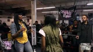 "getlinkyoutube.com-BABS BUNNY & VAGUE: ""QUEEN OF THE RING""  MS HUSTLE vs QB BLACK DIAMOND | MAIN EVENT W.T.T."