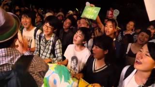 2015.09.16 自由の森学園 「ケサラ」国会前アピール