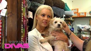 getlinkyoutube.com-Maryse gets emotional when she finds another dog to adopt: Total Divas Bonus Clip, Nov. 30, 2016