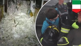 getlinkyoutube.com-Surviving an avalanche: Italy avalanche victims ate snow in 58-hour Rigopiano ordeal - TomoNews