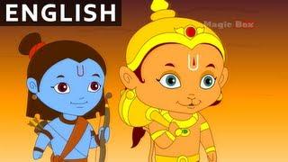 getlinkyoutube.com-Hanuman Saves Lakshmana - Hanuman In English - Animation / Cartoon Stories For Kids