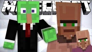 getlinkyoutube.com-Minecraft: I SAVED MYSELF! - The Villager With No Nose (Machinima & Mod Showcase)