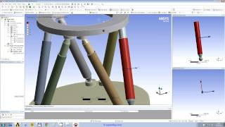 getlinkyoutube.com-WEBINAR 6: ANSYS Spaceclaim modeling and Workbench Structural FEA of a hexapod mechanism