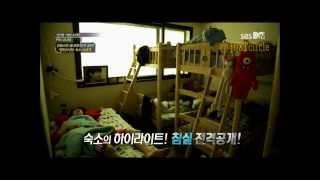getlinkyoutube.com-방탄소년단 BANGTAN Boys Waking up (Their Dorm reveal!!)