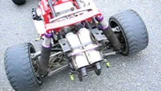 getlinkyoutube.com-Hpi baja with xcan + silencer stingers