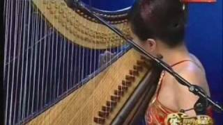 getlinkyoutube.com-箜篌 Konghou : an ancient Chinese harp 月兒高 The Cresting Moon