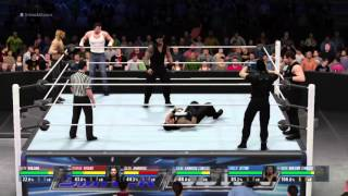 getlinkyoutube.com-WWE 2K16 The Shield vs. The Shield