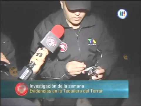 Extranormal La Tequilera del Terror El Arenal Jalisco 08 mayo 2011