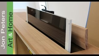 getlinkyoutube.com-Interior Design Tips -  Making the Top of a TV Lift Cabinet by Jon Peters