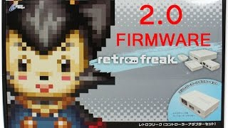 getlinkyoutube.com-Retro Freak 2.0 Firmware install tutorial guide Link Included new features!