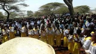 Asante song at Ordination width=