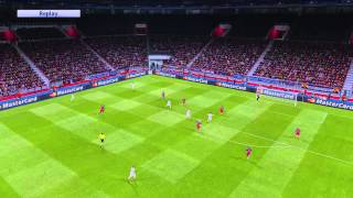 getlinkyoutube.com-PES 2016 - Barcelona VS Real Madrid Ultra HD Graphic Patch PC ทดสอบเทส