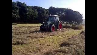 Elho 750 V-Twin grass rake