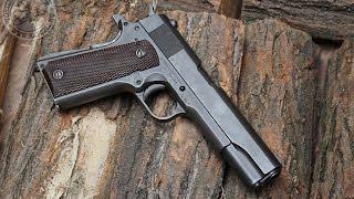 getlinkyoutube.com-Shooting the World War II Colt 1911A1 45ACP pistol