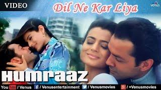 Dil Ne Kar Liya Aitbaar Full Video Song   Humraaz   Bobby Deol, Amisha Patel   Udit Narayan, Alka