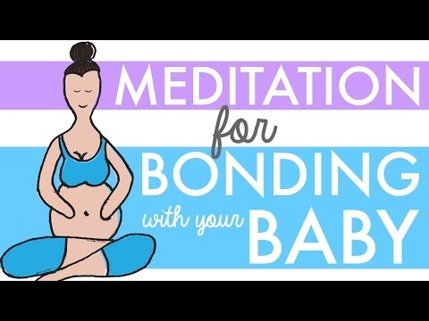 Prenatal Meditation Video: Bonding with Baby - HypnoBirthing for Natural Pregnancy & Childbirth