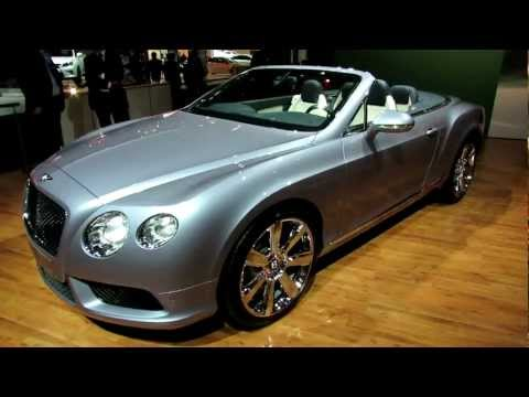 2013 Bentley Continental GTC V8 Exterior - Debut at 2012 New York International Auto Show