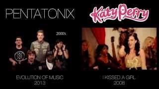 getlinkyoutube.com-Evolution of Music - Pentatonix (side by side)