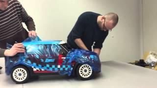 getlinkyoutube.com-CARS & Details: Unboxing Losi 5ive Mini WRC von Horizon Hobby