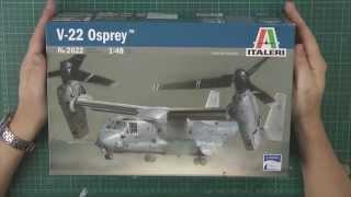 getlinkyoutube.com-Italeri 1/48 Osprey review