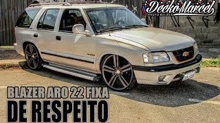 getlinkyoutube.com-Blazer aro 22 fixa| Black Auto center | Fixa Sorocaba | Decko Marcel