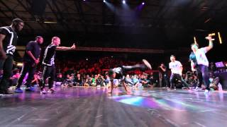 INFAMOUS vs FUSION MC/GAMBLERZ Final Burning Floor 2014